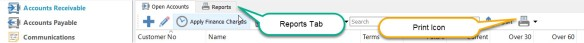 P7 reports tab